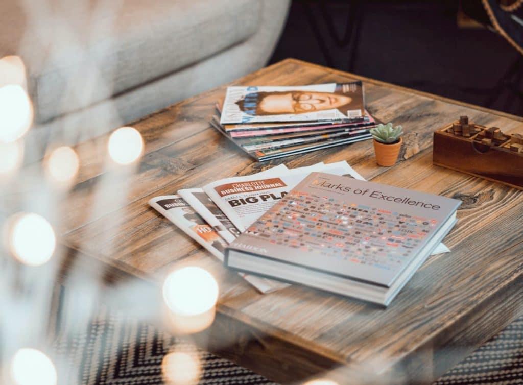 Czytanie książek to dla mnie najlepsza forma odpoczynku.